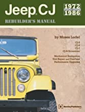 Jeep Cj Rebuilder's Manual, 1972-1986: Mechanical Restoration, Unit Repair and Overhaul Performance Upgrades for Jeep Cj-5...