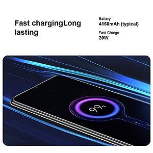 "Xiaomi Mi 10 Lite 5G Teléfono 6GB RAM + 64GB ROM, 6,57"" Pantalla de Color Verdadero, Procesador Snapdragon 765G Octa-Core, 16MP Frontal y 48MP AI Quad Cámara Trasera Versión Global (Gris)"