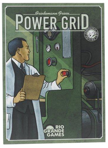 Rio Grande Games RGG240 Power Grid Jeu de société