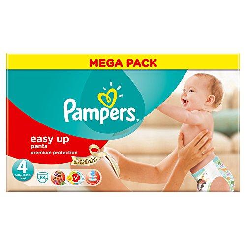 Pampers Easy Up Windeln, Größe 4, Maxi, 8-15 kg, Megapack x 84 Windeln