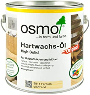 OSMO Hartwachs-Öl HS Original 3011 Farblos glänzend 2,5l Gebinde