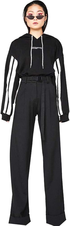 Womens Soft Palazzo Wide Leg Pant with Pockets High Waist Fashion Casual Loose Flowy Pants Streetwear