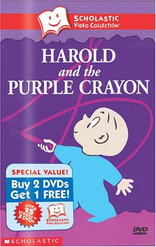 Scholastic Video Collection 3-Pack #4 - Harold and the Purple Crayon / Corduroy / The Snowy Day