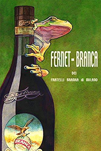 "Frog Fernet Branca POSTER Milano Milan Italy Italia Italian Drink Vintage Poster Repro 16"" X 22"" Image Size. We Have Other Sizes Available!"