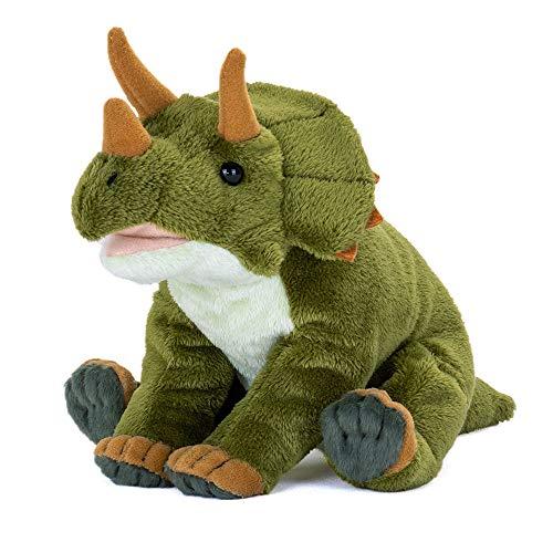 カロラータ トリケラトプス ぬいぐるみ (検針2度済み) 恐竜 おすわりシリーズ おもちゃ 人形 古代生物 / 赤ちゃん 子供 ( ギフト / プレゼント )