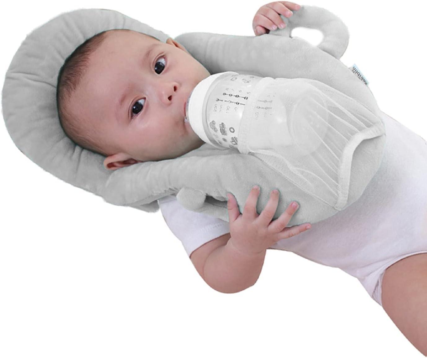 Baby Breast Feeding Pillow Support Portable Detachable Self-Feeding Pillow Bottle Holder Infant Cushion
