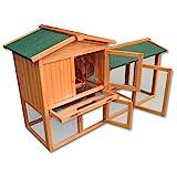 Capanna per roditori e lepri, pollaio. Grande spazio libero