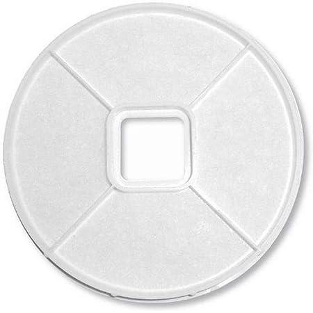 ユニックス 樹脂製角型レジスター PRP100シリーズ用 外気浄化フィルター PRP100FHフィルタセット φ100 5枚入