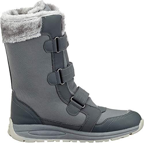 KangaROOS Unisex K-Star Boot RTX dziecięce buty zimowe, szary - Szary Steel Grey Vapor Grey - 28 EU