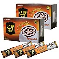 チュングエン G7 カプチーノ モカ 12包入×2個セット(計24包) ベトナムコーヒー