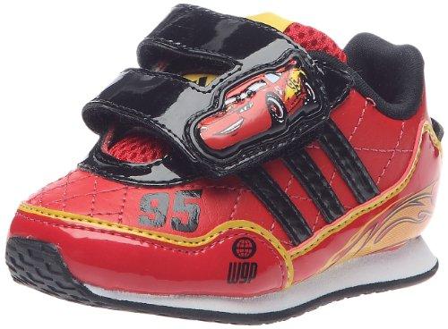 adidas Disney Cars 2I, Schuhe Multisport Unisex Kinder, Rot - Rot - Rouge/Noir1/Lumière - Größe: 21