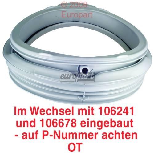 Tirador de puerta para lavadora AEG Lavamat PRIVILEG MATURA ELECTROLUX 110859050