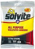 Solvite 1591219 - Adhesivo para todo tipo de papel pintado (5 rollos)