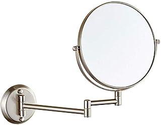 Beaupretty 1pc 5X grossissant Miroir cosm/étique avec Ventouse Miroir Mural Rond pour Accessoires de Salle de Bain 20cm