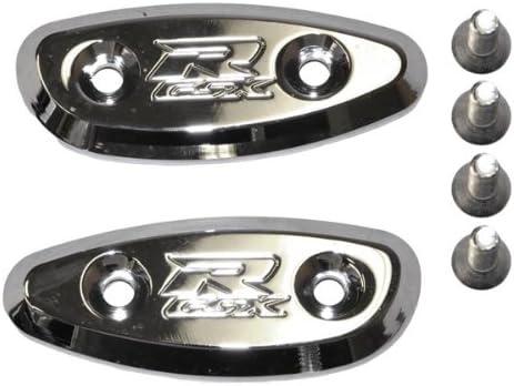 Yana Shiki CA2826 Chrome Don't miss the campaign Mirror Caps 750 for 600 10 GSX-R Suzuki Same day shipping