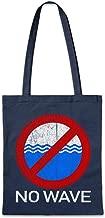 No Wave II Reusable Hipster Shopper Shopping Cotton Bag