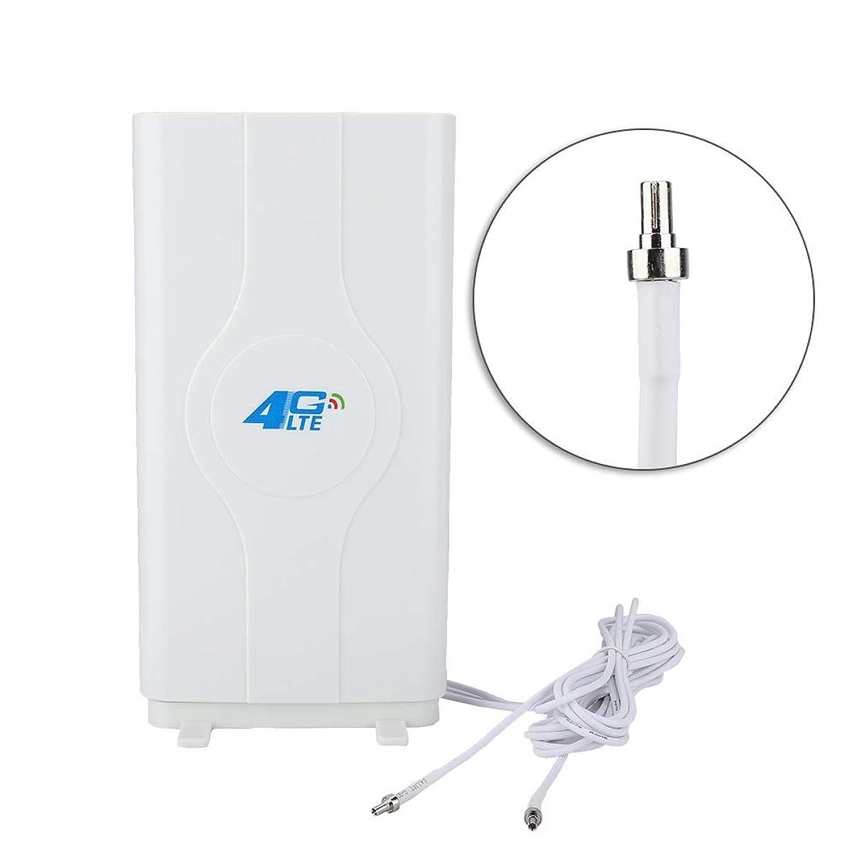 ASHATA 4G LTE Antenna, 4G High Power LTE Antenna 88dBi High Gain Network Ethernet Amplifier Antenna,TS9/ SMA/ CRC9 4G LTE Directional Signal Amplifier Antenna White(CRC9)