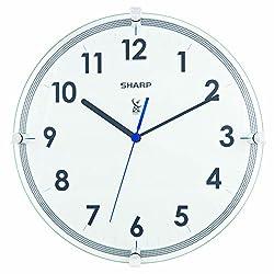Ashton Sutton Sharp SPC876 Atomic Wall Clock