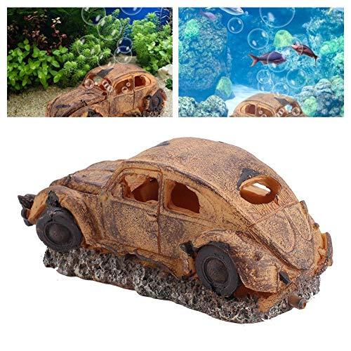 Aquarium decoratie, hars decoratie imitatie auto luchtbel steen ornament aquarium decor