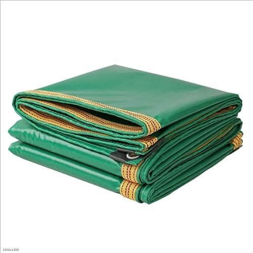 Bache YNN PVC imperméable 350g   m2 de Toile de de Camion de Tissu de Pluie d'Oxford étanche (Taille   3M5M)