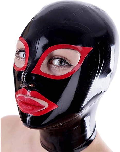 Latex mask sex