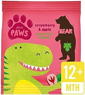 Bear Fruit Paws Dino Strawberry & Apple - 20g