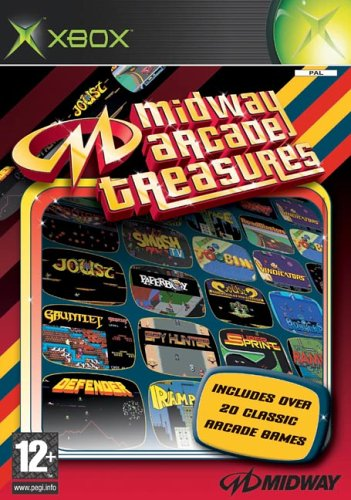 Midway arcade treasures 1 - XBOX - PAL