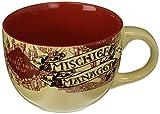 Silver Buffalo Harry Potter HP2724El Prisionero de Azkaban Taza sopera de cerámica multicolor, 710 ml