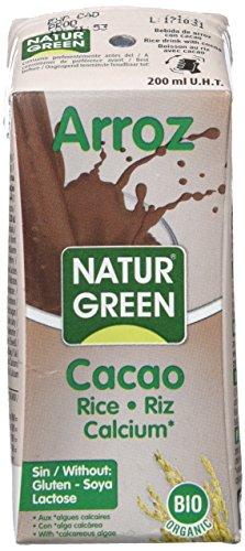 NaturGreen ARROZ CHOCO CALCIUM 200 ml