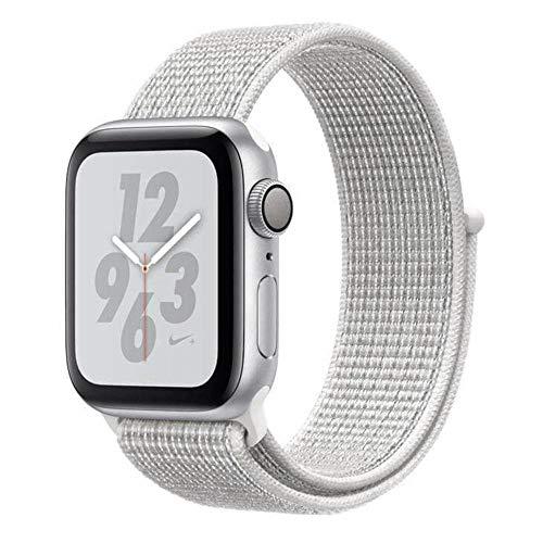 Apple Watch Nike+, 40 mm, Alumínio Prata, Pulseira Esportiva Nike Loop Prata e Fecho Ajustável - Mu7f2bz/a