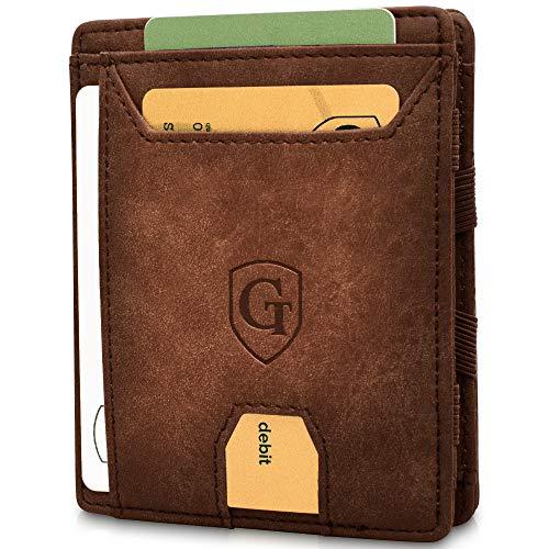 GenTo® FLAPLET I - Geldbörse mit Münzfach - TÜV geprüft - Magic Wallet - Magischer Geldbeutel mit großem Münzfach - Inklusive Geschenkbox - Smart Wallet - Portemonnaie für Herren und Damen