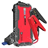 GOOLOO Jump Starter Battery Pack - 1500A Peak Water-Resistant Portable Lithium Car Booster for Up to 8.0L Gas or 6.0L Diesel Engine, SuperSafe 12V Auto Power Pack with USB Quick Charge,Type C Port