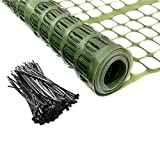 PeerBasics Patio Snow Garden Fencing, Lightweight Safety Netting, Recyclable Plastic...