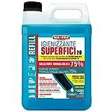 Mafra P1143, Igienizzante 2.0, Tanica Refill Soluzione Idroalcolica 75%, Purifica e Igienizza da Contaminazioni Tutte Le Superfici, Confezione da 5 L