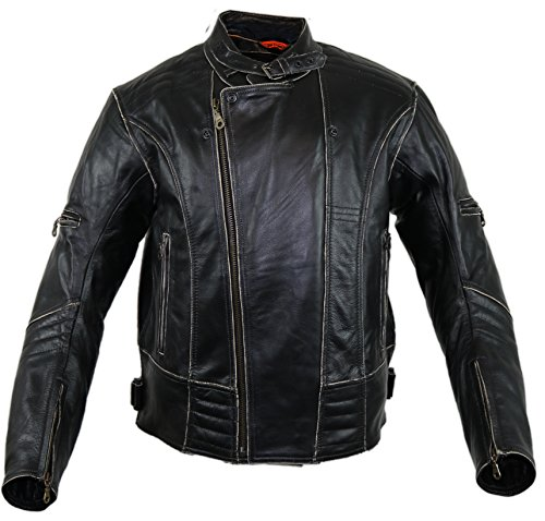 Motorrad Lederjacke (L) - 2
