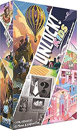 Asmodee Unlock! Kids - Jeu de société - Jeu Enfants - Jeu coopératif - Escape Game SCOUNLK01FR