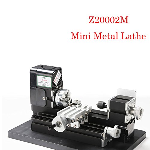 Learn More About Precision Mini Lathe Mini 24w Metal Lathe Z20002M for Hobby Modelmaking,Metal Lathe