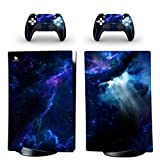DolDer PS5 - Skin adesiva per Sony PS5 e 2 controller Dualshock 0503 Digital Edtion