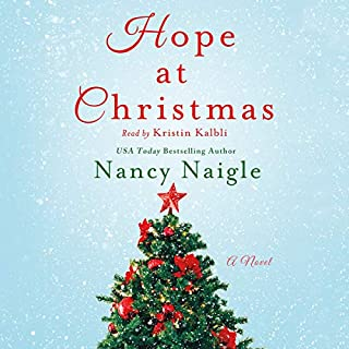 Hope at Christmas audiobook cover art