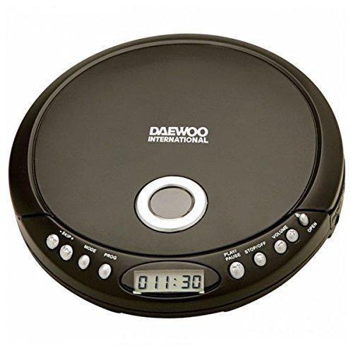 CD Portátil MP3 DDM-54 Anti-Shock Negro