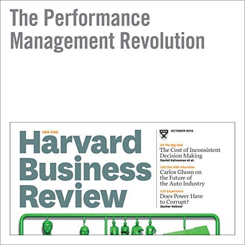 The Performance Management Revolution audiobook cover art