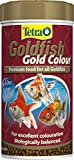 Tetra peces Color Dorado pescado alimentos, Premium alimentos con color relleno para todos los peces, 250ml
