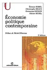 Économie politique contemporaine d'Étienne Barel