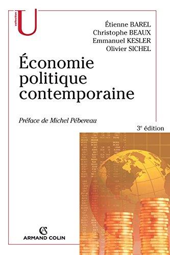 Économie politique contemporaine