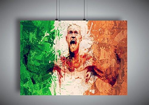 Plakat UFC CONOR MCGREGOR Wand-Kunst Abbildung 2