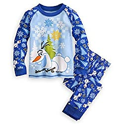 Disney Store Frozen Olaf Pajama Pants Set for Boys