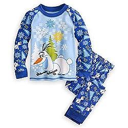 Disney Store Frozen Olaf Pajama Pants Set for Boys