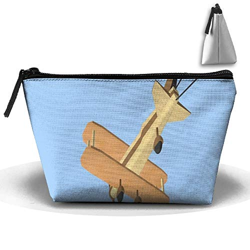 Origami-Animated-Plane Portable Makeup Receive Bag Storage Large Capacity Bags Hand Bag Travel Wash Bag For Travel with Hanging Zipper