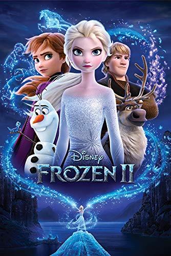 Disney Frozen Poster, Papier, Mehrfarbig, 61 x 91.5cm