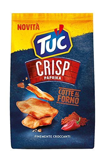 TUC Crisp Paprika Salzgebäck Crackers Gebacken gesalzen 100g